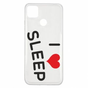 Etui na Xiaomi Redmi 9c I love sleep