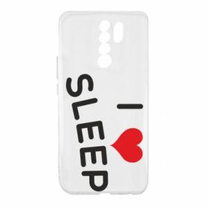 Etui na Xiaomi Redmi 9 I love sleep