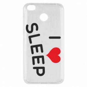 Etui na Xiaomi Redmi 4X I love sleep