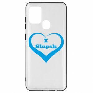 Samsung A21s Case I love Slupsk