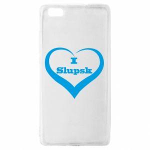 Huawei P8 Lite Case I love Slupsk