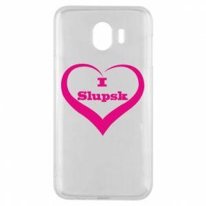 Etui na Samsung J4 I love Slupsk
