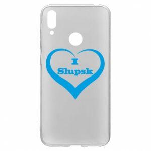 Huawei Y7 2019 Case I love Slupsk