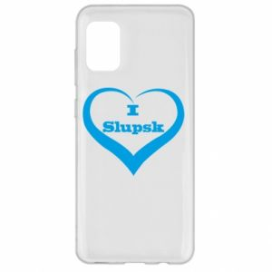 Samsung A31 Case I love Slupsk