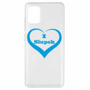 Samsung A51 Case I love Slupsk