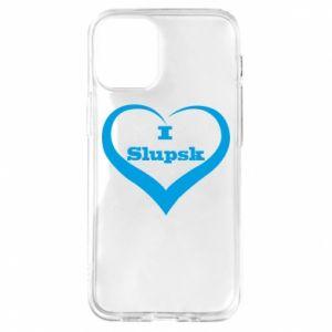 iPhone 12 Mini Case I love Slupsk