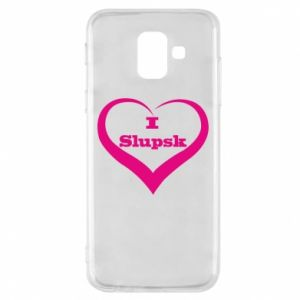 Etui na Samsung A6 2018 I love Slupsk