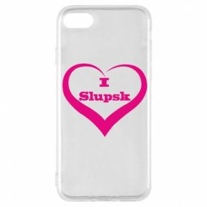 Etui na iPhone 7 I love Slupsk