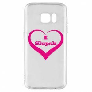 Etui na Samsung S7 I love Slupsk
