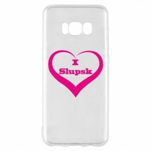 Etui na Samsung S8 I love Slupsk