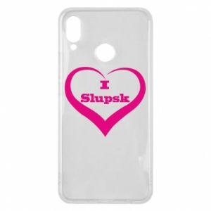 Etui na Huawei P Smart Plus I love Slupsk
