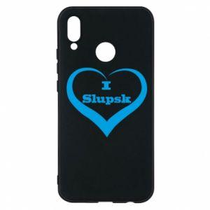 Etui na Huawei P20 Lite I love Slupsk