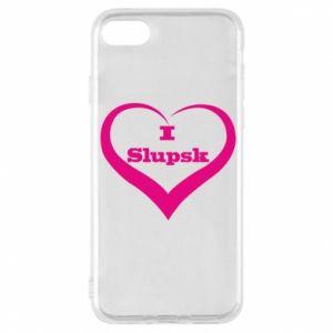 Etui na iPhone 8 I love Slupsk