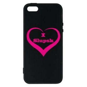 Etui na iPhone 5/5S/SE I love Slupsk