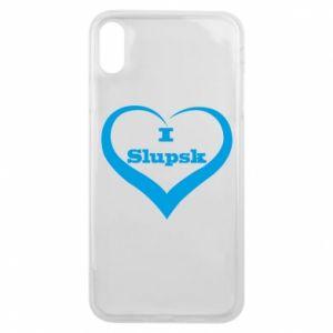 Etui na iPhone Xs Max I love Slupsk