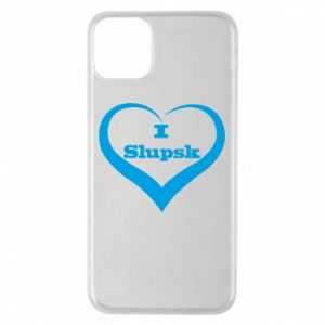 Etui na iPhone 11 Pro Max I love Slupsk