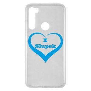 Xiaomi Redmi Note 8 Case I love Slupsk