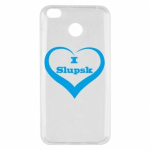 Xiaomi Redmi 4X Case I love Slupsk
