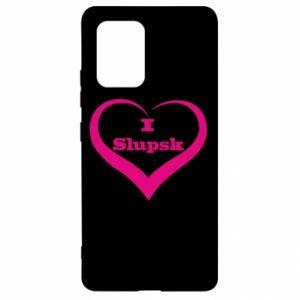 Samsung S10 Lite Case I love Slupsk