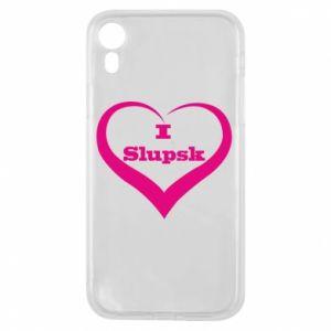 Etui na iPhone XR I love Slupsk