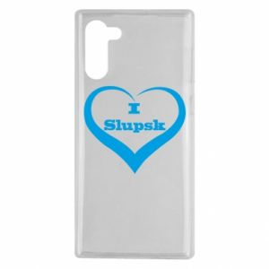 Samsung Note 10 Case I love Slupsk