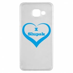 Samsung A3 2016 Case I love Slupsk