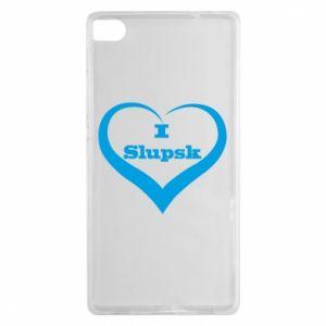 Huawei P8 Case I love Slupsk