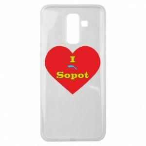 "Samsung J8 2018 Case ""I love Sopot"" with symbol"