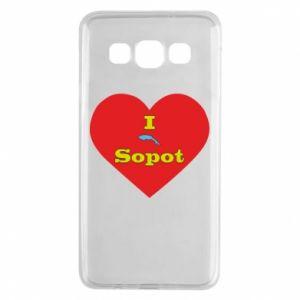 "Samsung A3 2015 Case ""I love Sopot"" with symbol"