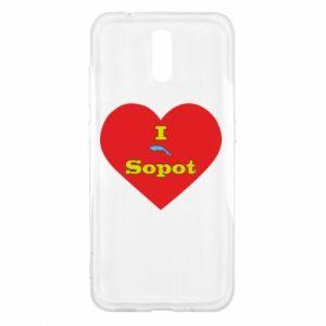 "Nokia 2.3 Case ""I love Sopot"" with symbol"