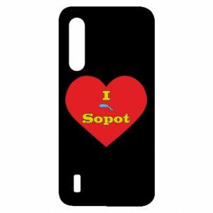 "Xiaomi Mi9 Lite Case ""I love Sopot"" with symbol"