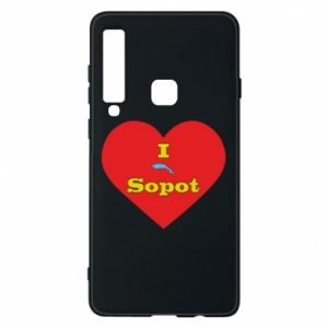 "Phone case for Samsung A9 2018 ""I love Sopot"" with symbol"