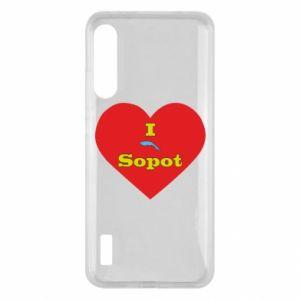 "Xiaomi Mi A3 Case ""I love Sopot"" with symbol"