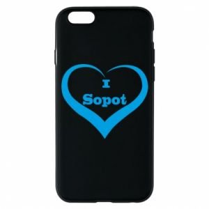 iPhone 6/6S Case I love Sopot