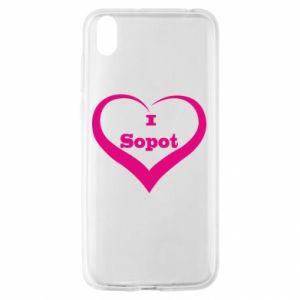 Huawei Y5 2019 Case I love Sopot