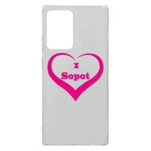 Samsung Note 20 Ultra Case I love Sopot