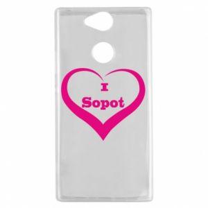 Sony Xperia XA2 Case I love Sopot
