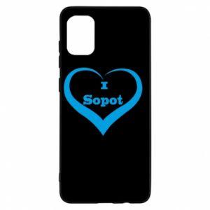 Samsung A31 Case I love Sopot