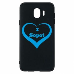 Phone case for Samsung J4 I love Sopot
