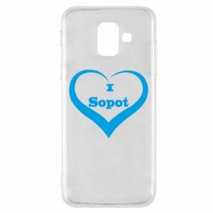 Etui na Samsung A6 2018 I love Sopot - PrintSalon
