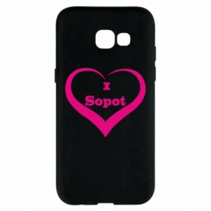 Phone case for Samsung A5 2017 I love Sopot
