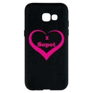 Etui na Samsung A5 2017 I love Sopot - PrintSalon
