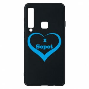 Phone case for Samsung A9 2018 I love Sopot