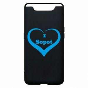 Etui na Samsung A80 I love Sopot - PrintSalon