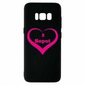 Etui na Samsung S8 I love Sopot - PrintSalon