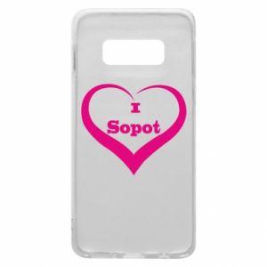 Etui na Samsung S10e I love Sopot - PrintSalon