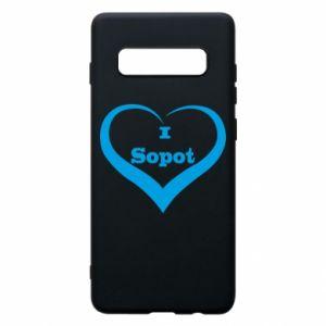 Phone case for Samsung S10+ I love Sopot
