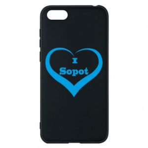 Phone case for Huawei Y5 2018 I love Sopot