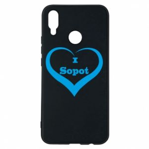 Huawei P Smart Plus Case I love Sopot