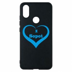 Etui na Xiaomi Mi A2 I love Sopot - PrintSalon